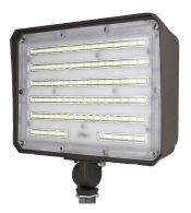 100W LED Flood Light With Photocell - 130lm/w - 13000lm - 5000K - 100-277VAC - 400W MH/HPS/HID Equivalent