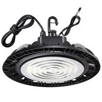 100W LED High Bay 1-10V Dim -60LM/W -16000Lm -100-277VAC -400W MH/HPS Equivalent - 5000K -ETL DLC Premium