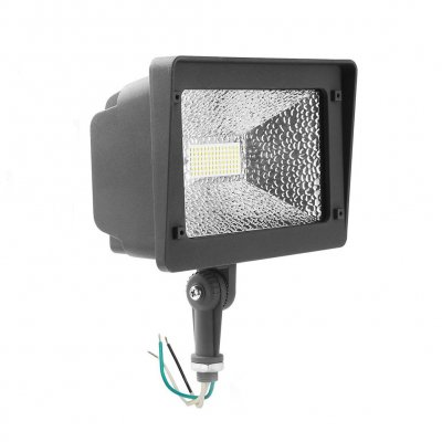 50W LED Flood Light - 6000 Lumens - 100-277VAC - 150W Metal Halide Equivalent - 5000K