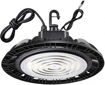 100W LED High Bay - 160LM/W - 16000Lm - 100-277VAC - 1-10V Dim -400W MH/HPS Equivalent - 5000K