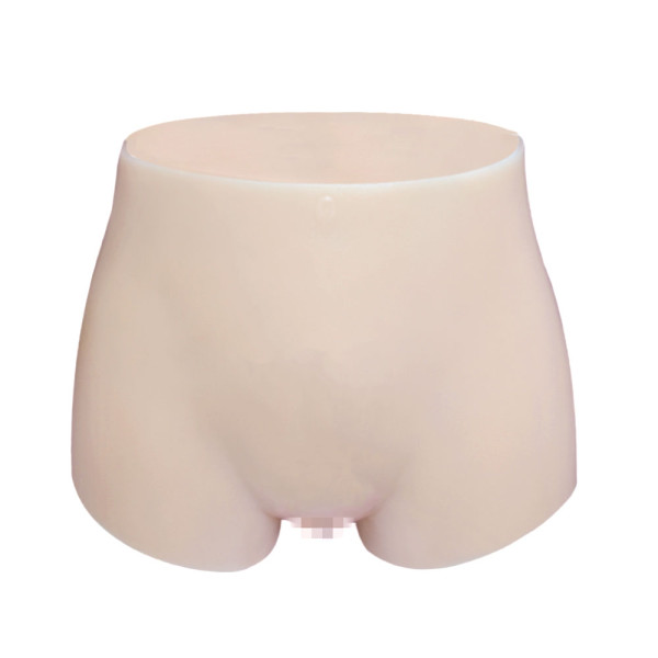 JUYO VONSAN Crossdresser Panties Silicone Underwear Panites Crossdressing Apparel for Crossdressing with Fake Vagina Tube