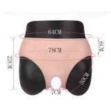 JUYO VONSAN Crossdresser Panties Silicone Panites Cross dressing  with Fake Vag Male to Female