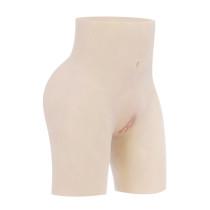 JUYO VONSAN シリコンパンツ 女装 下着 下半身ボディスーツ 偽膣 偽肛門 二つの生殖器通路 尿導管付き Tバッグ 仮装