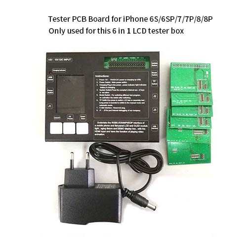 LCD tester for iphone 6S/6S Plus/7/7Plus/8/8Plus/