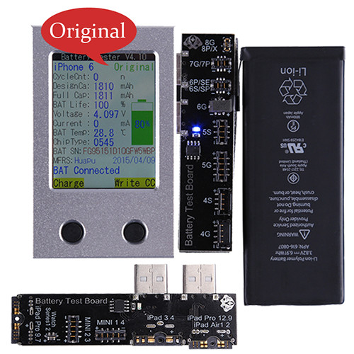 iPhone Battery Tester For iPhone 4 4S 5 5S 5C 6 6P 6S 6SP 7 7P 8G 8P X