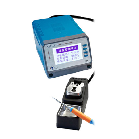 LEISTO T12-11 75W digital lead-free soldering station for phone repair