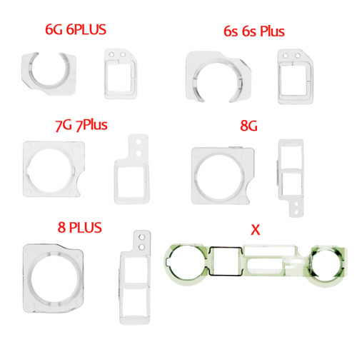 Proximity Sensor Front Facing Camera Plastic Holder Clip And Cap Holder Lens Clip Ring For iPhone 5S 6/6P 6S/ 6SP 7G 7P Replacement Parts