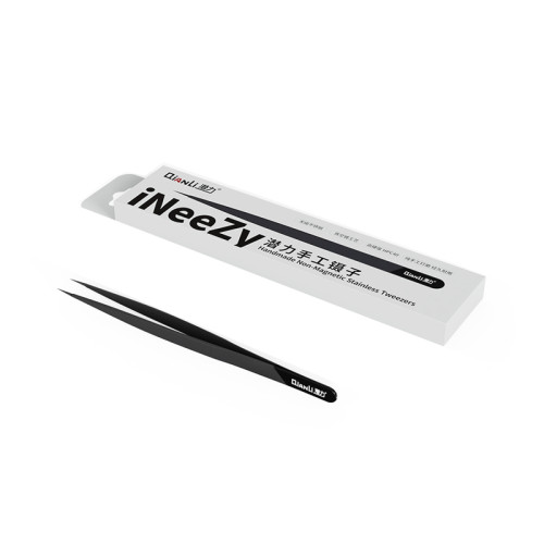 Qianli  fly line tweezers hand-polished non-magnetic stainless steel high hardness vacuum plating tweezers