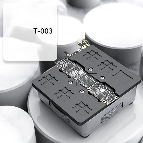 Newest T-003 Mobile Phone Universal fixture For iPhone Android Motherboard Chip Fixed Planting tin Degumming Maintenance Clamp