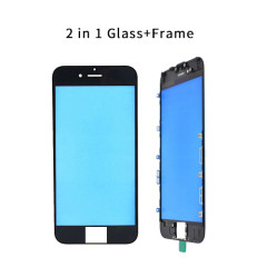 2 In 1 Cold Pressed Glass+Frame For iPhone 5G 5S 5C 6G 6S 6Plus 7G 7Plus 8G 8Plus