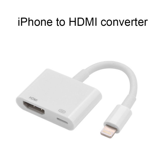 iOS Device lightning to HDMI cable