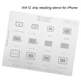 AMAOE iPhone iPad wifi IC chip reballing stencil 0.12mm iPad 5-11 iPad5 iPad mini 2 3 4 Pro9.7 Pro12.9