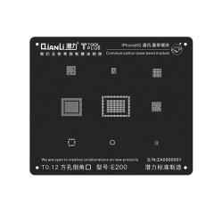 QIANLI innovative square hole planting tin net black net apple i5-i8 communication baseband module universal square hole planting tin black net
