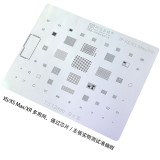 AMAOE multi-purpose reballing stencil for XS XSMAX XR A12 CPU sreen IC steel net mesh