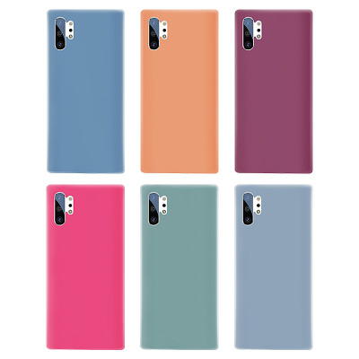 Samsung models silicone protective phone cases 4 side cover
