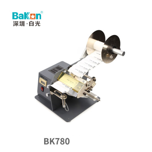 BAKON BK780 automatic label stripping machine label separator bar code self-adhesive stripping machine