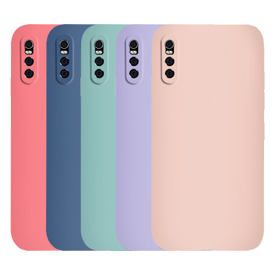 Vivo models Silicone protective phone cases 3 side cover