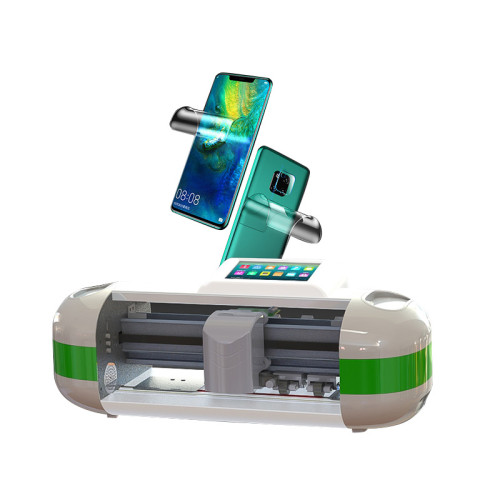 Mobile phone protective film cutting machine front & rear protection film cutter cloud database fast and free update