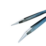 MECHANIC SF-11/SF-12 new flying line tweezers special ceramic flying line repair white ceramic tweezers white pottery