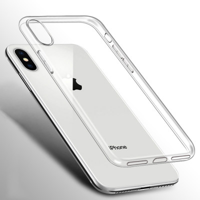 Clear Silicone Soft Case For iPhone XS Max XR X 11 pro 7 8 Plus 6 S 6S 4 4S 5 5S 5SE 6Plus 7Plus 8Plus Back Cover TPU Case Transparent Case
