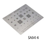 RL-044 SAM4 SAM6 Steel net for Samsung 0.12MM universal CPU stencil