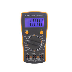 Portable BEST-VC830L LCD Display Digital Multimeter Voltmeter Ammeter Ohmmeter