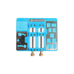 SS-601J multi purpose phone repair fixture for fingerprint repair / IC chip glue removal / motherboard / IC and small spare partstorage upgrade to A13