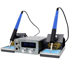 St-91 Antistatic Double Welding Table Adjustable temperature electric soldering iron mobile phone repair Rapid heating