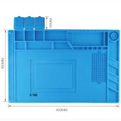 S160 Silicone Mat High Temperature Anti-corrosion Magnetic Repair Pad