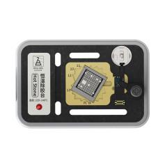 Qianli MEGA-IDEA Hot Stone Preheating Platform BGA Glue Removing Station for iPhone 7- 11 Pro Max NAND Flash CPU Rework Tool