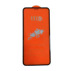 iPhone models 111D high quality anti fingerprint full cover tempered glass 150MM super large arc 280AB glue