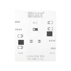 AMAOE iPhone iP Lattice/Face/Original Color Steel Mesh reballing stencil 0.12mm