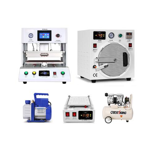 TUOLI 16 inch laminate machine bubble remove 11 inch hot separate pump compressor laminating machine