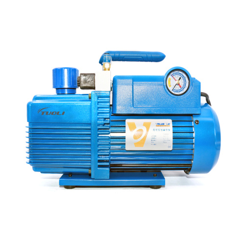 TUOLI 220V 750W 4L Flow Rate 14.4m3 / h Vacuum Pump V-i280SV Two-stage New Refrigerant Vacuum Pump refrigeration tools