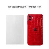 TUOLI TL-1812C Crocodile Pattern TPU Back Film 180*120MM  for  Screen Protector cutting machine  50pcs/box