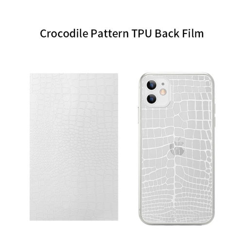 TUOLI TL-1812C Crocodile Pattern TPU Back Film 180*120MM  for  Screen Protector cutting machine  50pcs/box