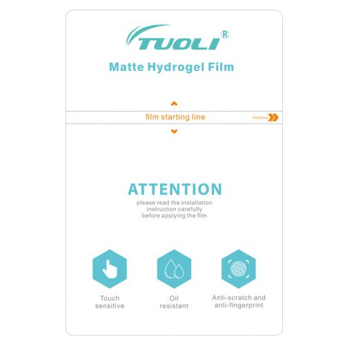 TUOLI TL-1812MS TL-3020MS  Matte Hydrogel TPU Film for phone tablet protector cutting machine  50pcs/box