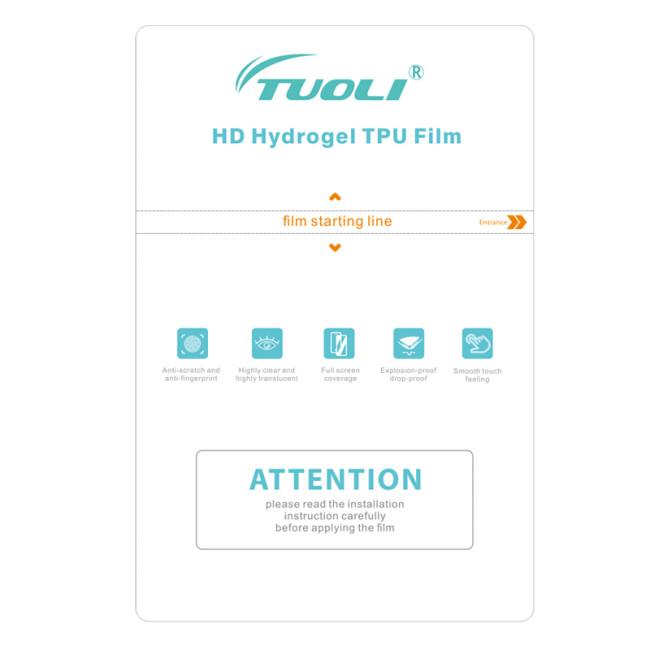 TUOLI TL-1812HS TL-3020HS clear HD Hydrogel TPU Film for phone tablet protector cutting machine 50pcs/box