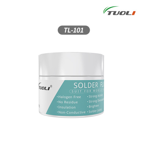 TUOLI TL-101 no clean no gass no smell Environmental solder flux for motherboard repair use