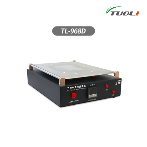 TUOLI  Max 15inch TUOLI-968D Lcd Separator Built In Vacuum Pump for iPad Lcd Separating Machine