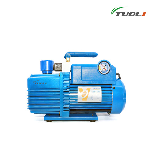 TUOLI 220V 750W 4L Flow Rate 14.4m3 / h Vacuum Pump V-i280SV Two-stage New Refrigerant Vacuum Pump refrigeration tools