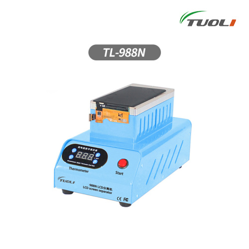 TUOLI-988N Built-in double vacuum pump lcd screen separate machine for Straight screen edge Curved screen s6 edge S8 high quality