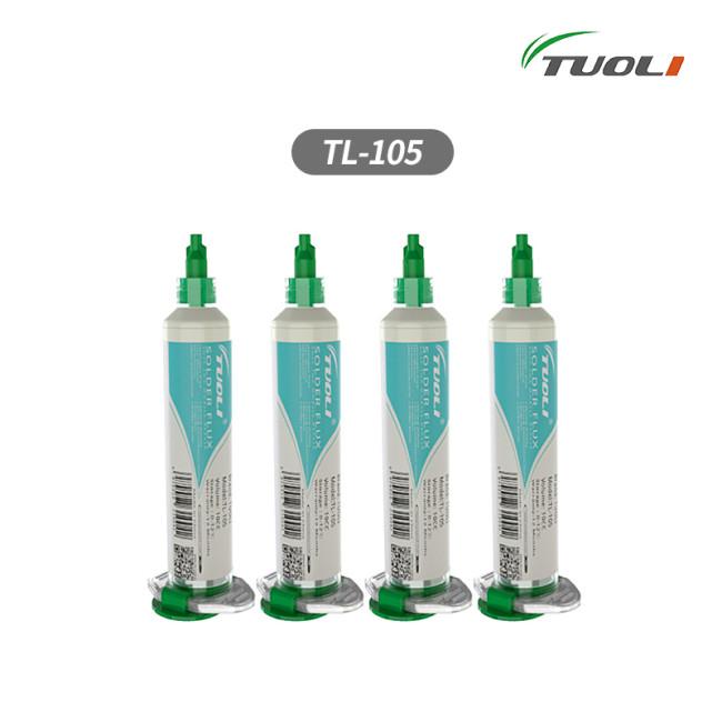 TUOLI TL-105 no clean no gass solder flux best help for motherboard repair