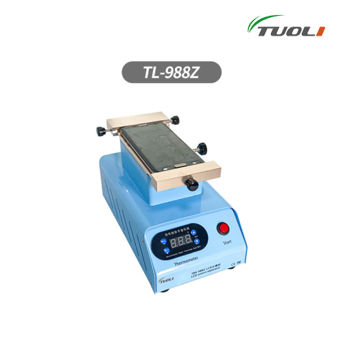 TUOLI-988Z LCD Screen separator Glue Cleaning Built-in double vacuum pump LCD Screen repair For  S8 S9 S10 iPhone X XS MAX