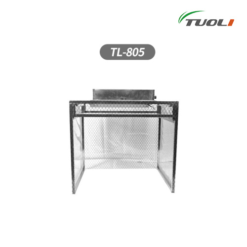 TUOLI-805 Dust Free Room Aluminum Work bench with Anti-static Curtains Iron Workbench With Cleaning Room