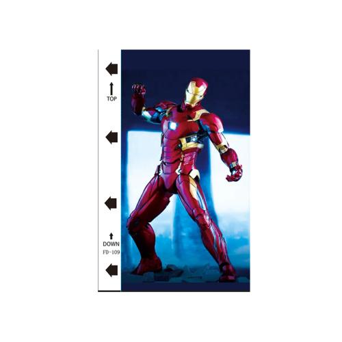 50pcs / pack Avengers series UV mobile phone back film
