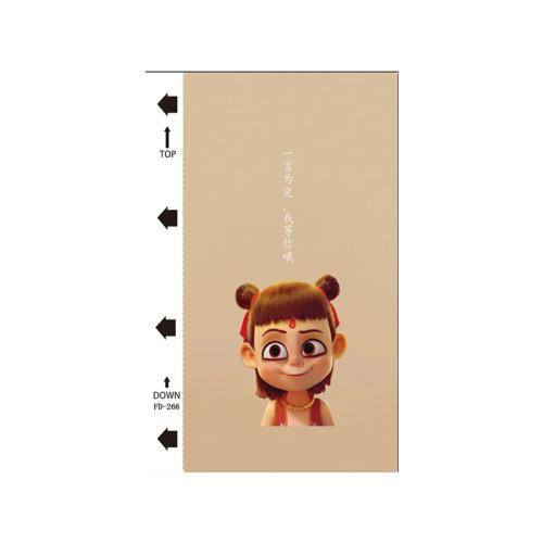 50pcs / pack Chinese Comic Series UV mobile phone back film