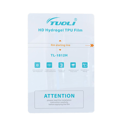TUOLI HD Hydrogel film 180*120MM diy for Screen Protector cutting machine