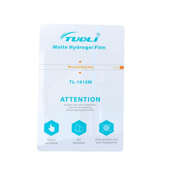 TUOLI  Matte Hydrogel Film  180*120MM diy for Screen Protector cutting machine