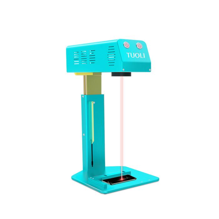 TUOLI  TL-666 mini Laser machine for back glass rufurbishing